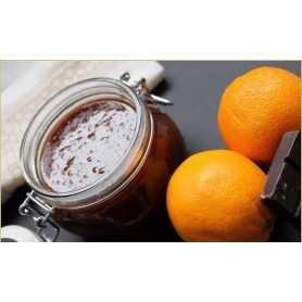 Orangenmarmelade mit Schokolade 275gr