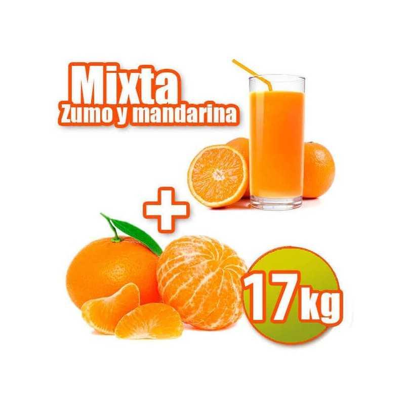 Mixta de zumo y mandarina 17kg
