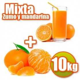naranjas de zumo y mandarinas