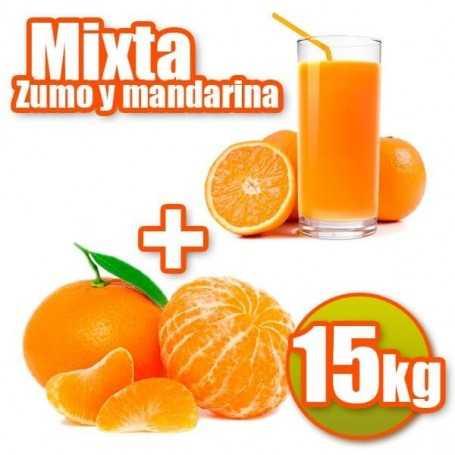 Mixta de zumo y mandarina 15kg