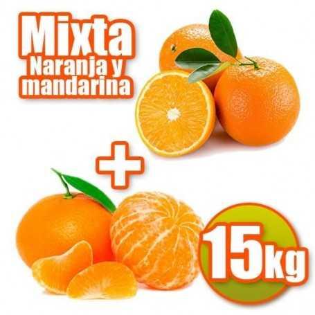 Mixta de mesa y mandarina 15kg
