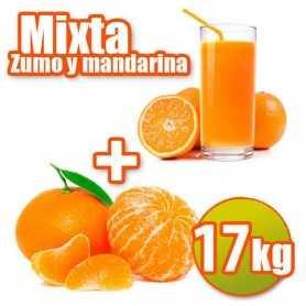 Mixta de zumo y mandarina 10kg