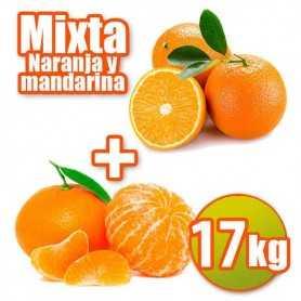 Mixta de mesa y mandarina 17kg