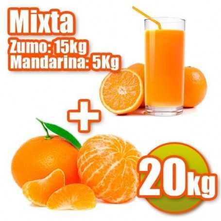 Mixta de zumo y mandarina 20kg