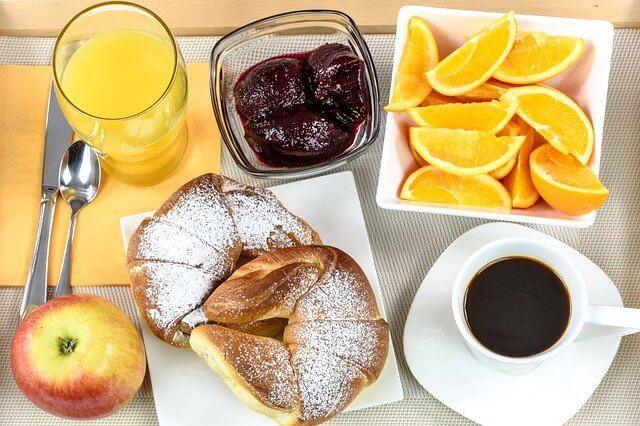 naranjas como protagonistas del desayuno