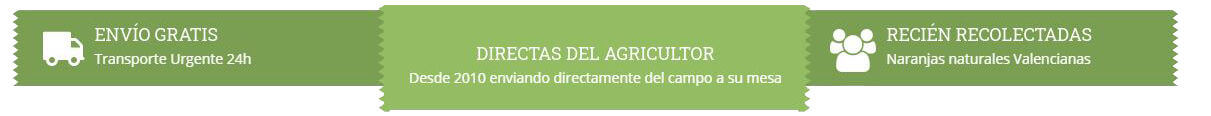 Naranjas directas del agricultor - Naranjas naturales - Naranjas Julian